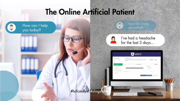 the online artificial patient